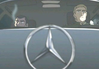 Mercedes-Benz? from Kumo no Mukou, Yakusoku no Basho