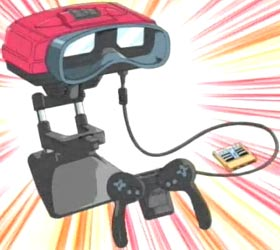 Virtual Boy from G-On Riders