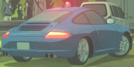 Porsche from Darker than BLACK