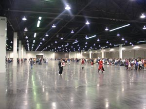 Huge Room 1 from Anime Expo 2004