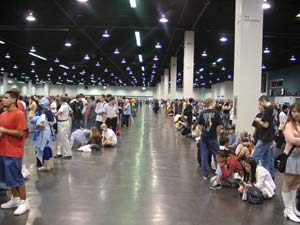 Huge Room 2 from Anime Expo 2004