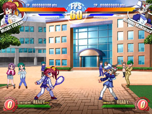 Mizuki vs. Minami from Party's Breaker (The Queen of Heart 2001)