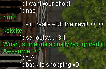 Discusssion about shop name in Ragnarok Online