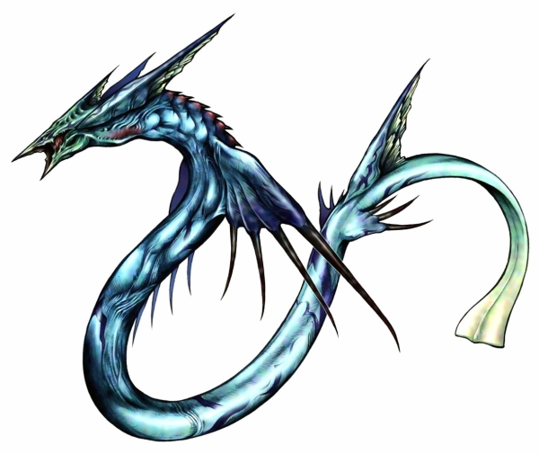 Leviathan from Final Fantasy VIII