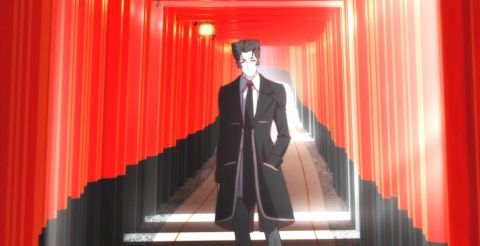 Kaiki Deishu in Torii Pathway from Monogatari Series: Second Season