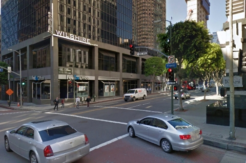Downtown Los Angeles - Wilshire & Flower